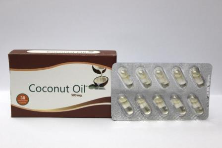 Coconut Oil Capsules - Coconut Oil Capsules