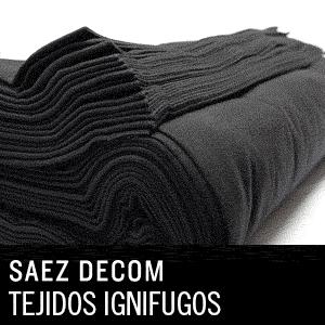tejidos ignifugos - en Saez Decom proporcionamos las telas ignífugas de mejor factura, calidad y bel