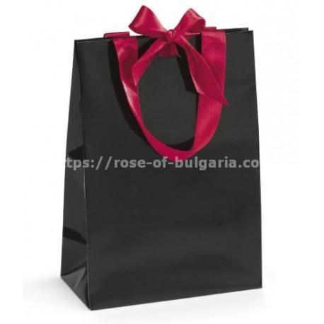 Sac cadeau pour le plaisir d'offrir de la rose - Coffrets cadeaux
