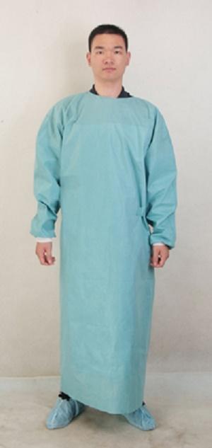 Vestido quirúrgico reforzado Ropa del cuerpo de protección