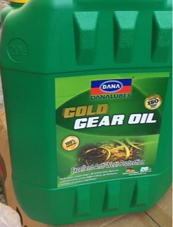 Transmission Fluids - Gear Oil 80W90 API GL-5 -