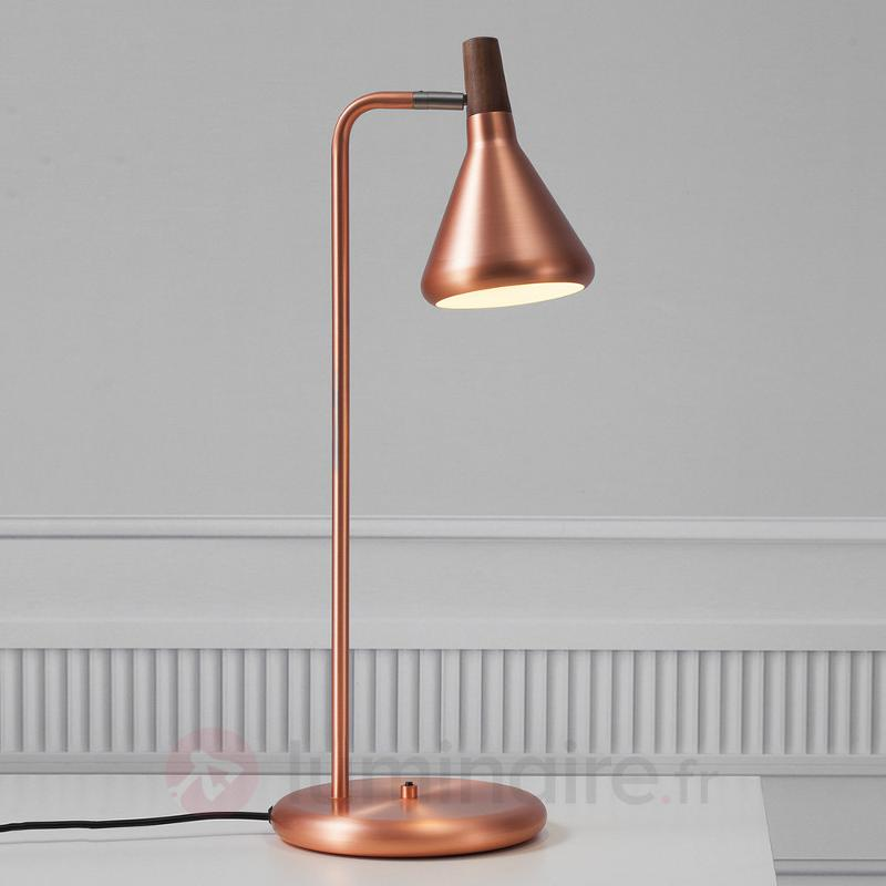 Lampe à poser LED Float, aspect cuivré - Lampes de bureau