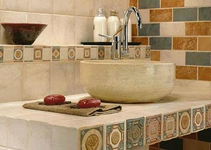 Porcelanite ceramic tile