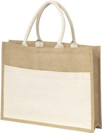 Reusable and Eco-friendly Jute Tote Shopping Bag -  Reusable and Eco-friendly Jute Tote ShoppingHand Bag