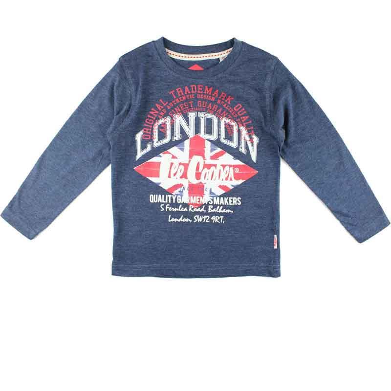 Großhändler kleidung T-shirt kind Lee Cooper - T-shirt und polo langarm