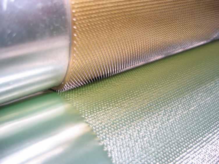 Nadelwalzen zur Alu-Perforation - Perforation von Aluminium oder anderen Metallfolien