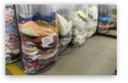 Used clothes - HOME TEXTILES (EXTRA, NO1., NO2. MIXES, EXTRA, NO1. CURTAINS