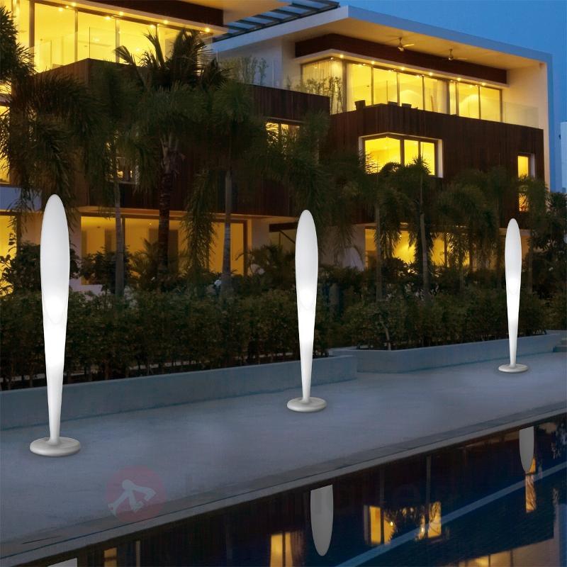 Lampadaire design PEGGY pour l'extérieur GU10 - Luminaires de terrasse