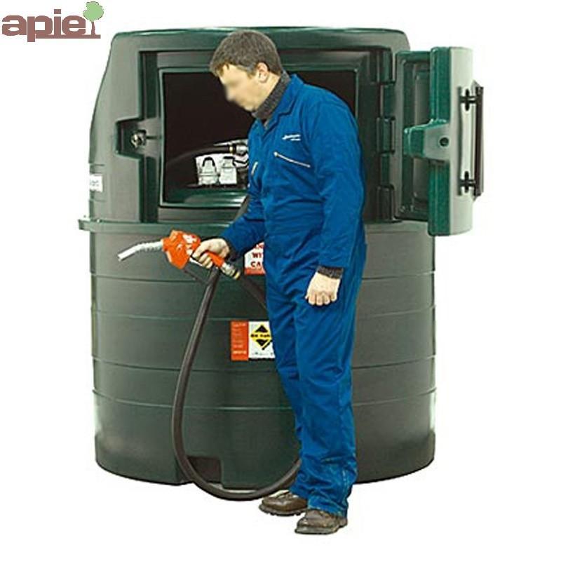 Station 1500 L pour stockage et distribution de Gasoil - Référence : 1400FS/H