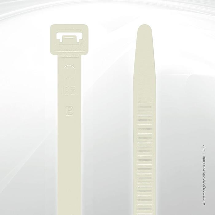 Allplastik-Kabelbinder® cable ties, standard - 5227 (natural)