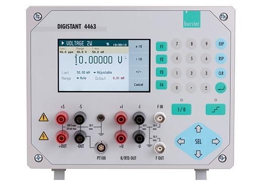 DIGISTANT® 4463 - High-precision multifunction calibrator for voltage, current, Thermocouple, RTDS