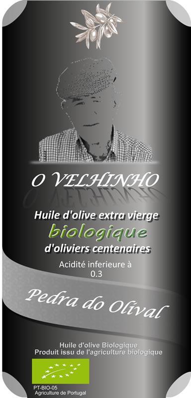 Azeite virgem extra Biologico d'olivais centenarios 0.50 L - Pedra Do Olival