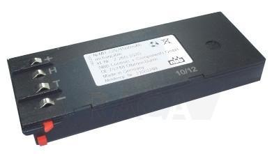 RNBB7215 2.260.1020 NBB radio remote control battery - for Hiab Hi Drive / NBB Nano 22601020 / 22501000 / 22502010 22502011 and more