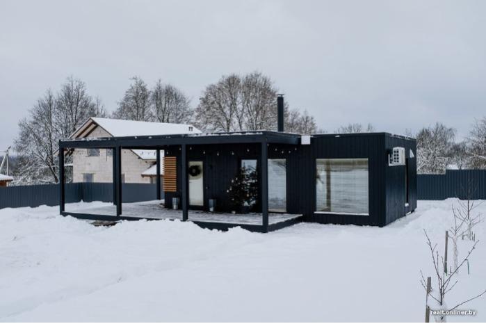 Модульный дом 48 м2 - Современный модульный дом 48 м2