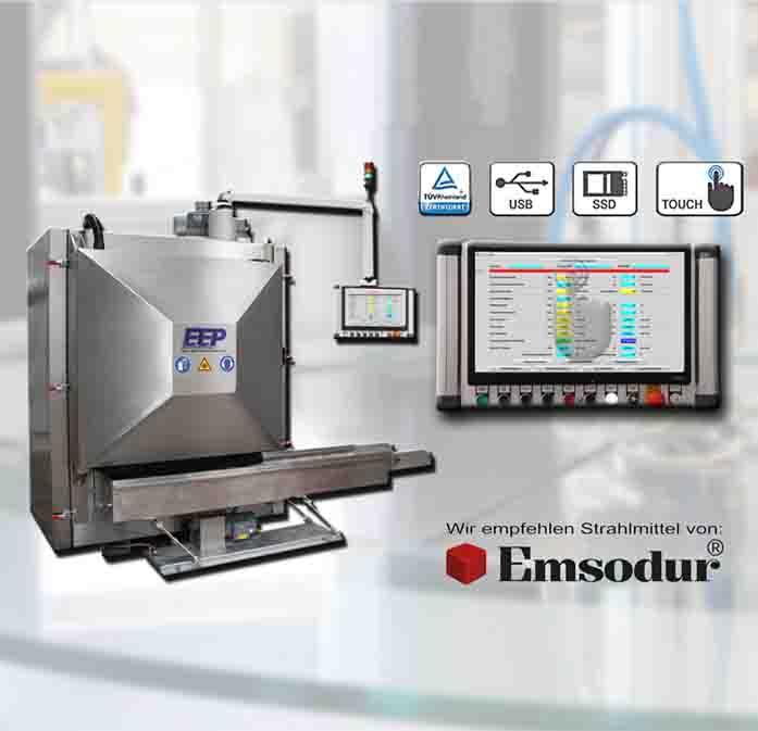 machine d'ébavurage cryogénique E90 - pour les articles en caoutchouc, plastique & zinc moulé de 3 à 500 mm