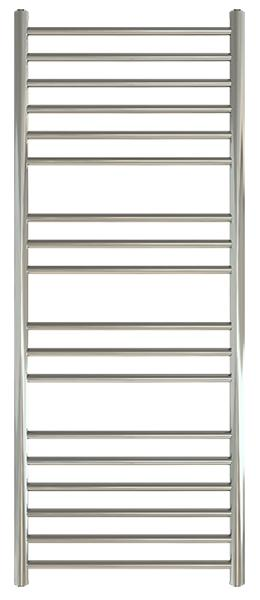 SS100 Maxi Flat 520 Stainless Steel Towel Rail - Handmade 1300 x 520mm Towel Rail
