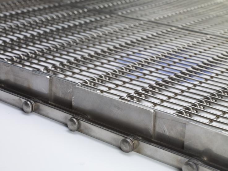 Conveyor belt: Eye-Flex® - Heavy duty and durable modular steel conveyor belt
