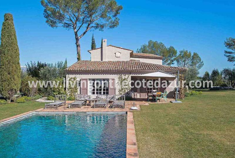 Mouans Sartoux large villa in gated estate - Real Estate