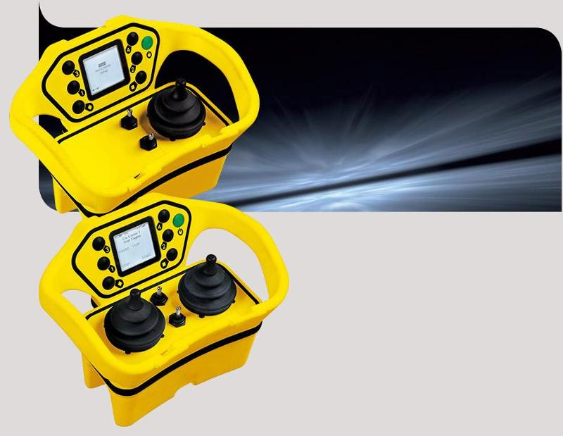 Joysticks radio remote control - Pika