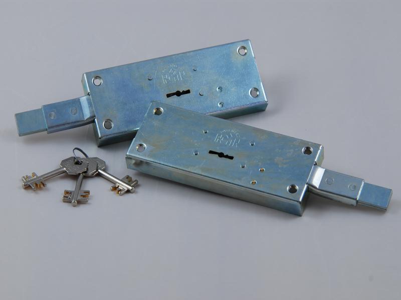 Serrature laterali con cilindri doppia mappa - null
