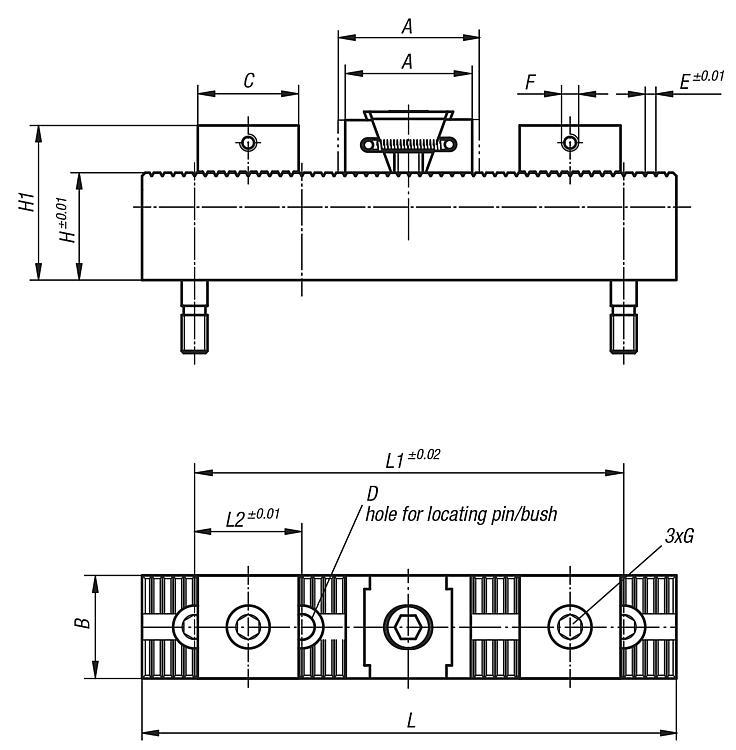 Multi-clamping system, soft stops - Multi Clamping System