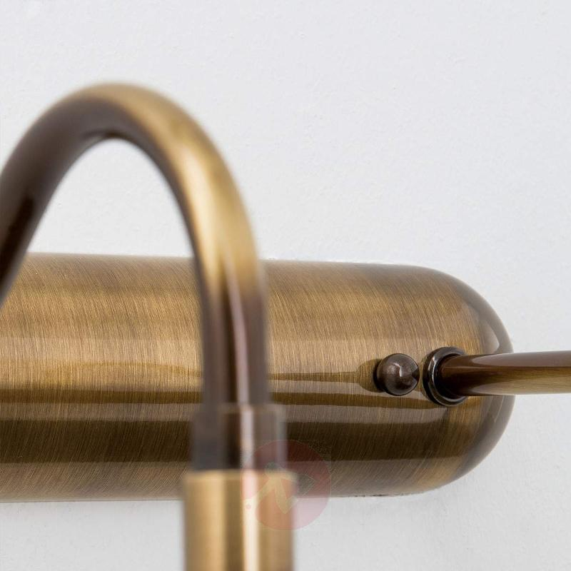 Adjustable picture lamp Lariga antique brass 70 cm - Picture Lights