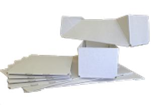 Boîtes cloches sans montage - Boîtes cloches en carton