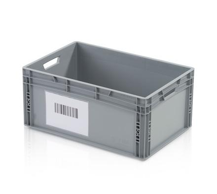 Box inserts, floor grates, label holder, printing - Self-adhesive pocket A6 crosswise