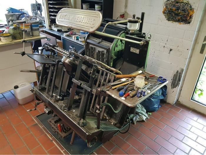 Heidelberg Tiegel T - Used Machine