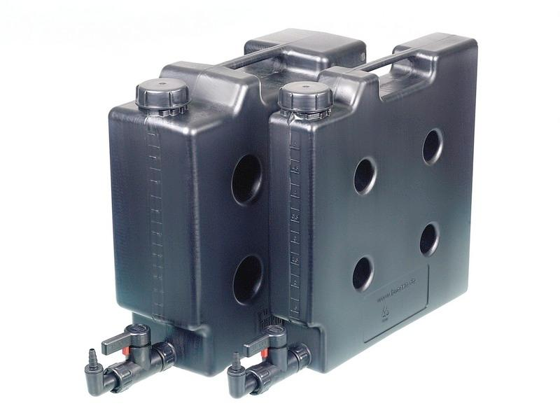 Compact jerrycan, electroconductive - Canister, space-saving, storing highly flammable liquids