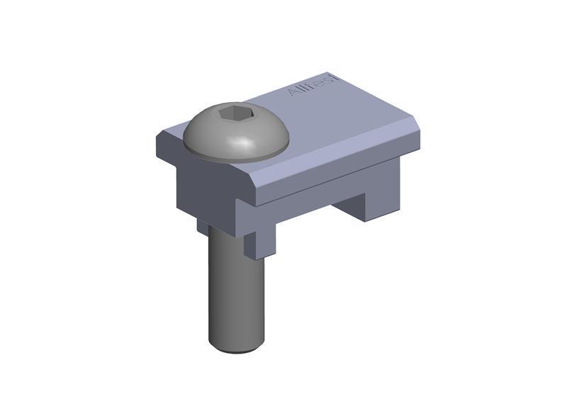 Klemmprofilverbinder 8 32x18 ZN Satz -