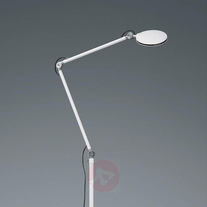 Modern LED floor lamp Roderic in white - Floor Lamps