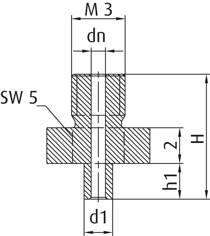 Standardhalter für Vakuumsauger SZ-NIP - null