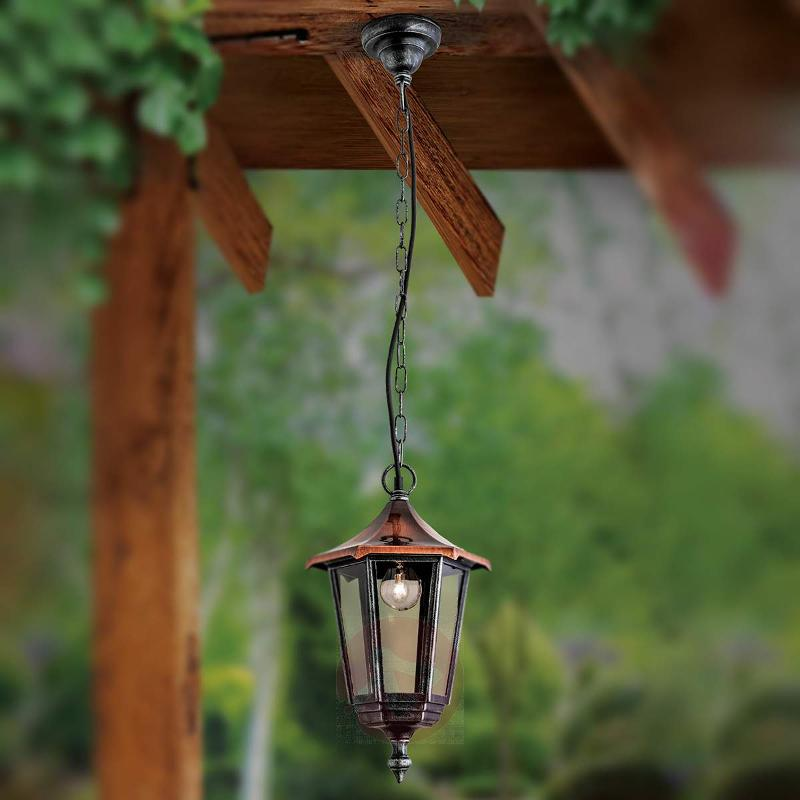 Antonie Hanging Light Stunning with Copper Cover - Outdoor Pendant Lighting