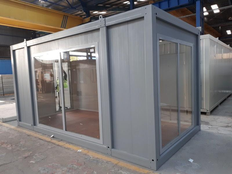 Flatpack Showroom Container - null