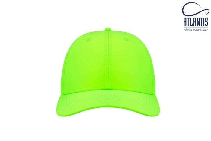 Cappello eco-sostenibile in 100% poliestere riciclato - Cappello eco-sostenibile con visiera, in 100% poliestere riciclato