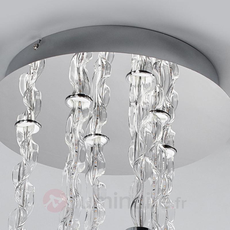 Plafonnier LED Rieke plein d'effet - Plafonniers LED