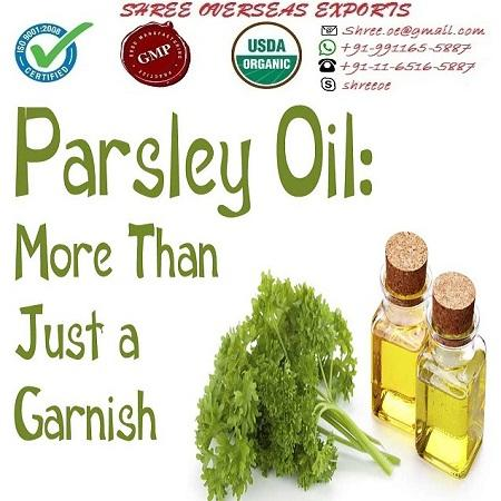 Organic Parsley Seed Oil - USDA Organic