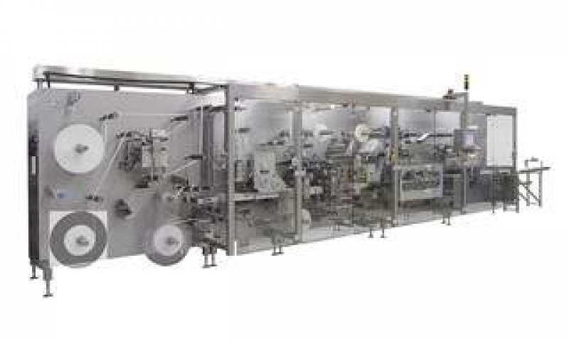 Manufacturing and Packaging Line OPTIMA MDC300 - Manufacturing and Packaging Line OPTIMA MDC300: Advanced wound care