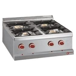 GAS COOKING RANGE - GAMME OPTIMA 700