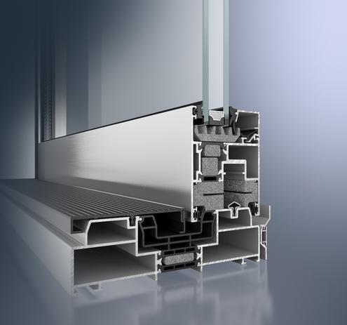 Drzwi tarasowe podnoszono-przesuwne Schuco ASS 70.HI - Drzwi przesuwne (Slide doors) - na dowolny wymiar