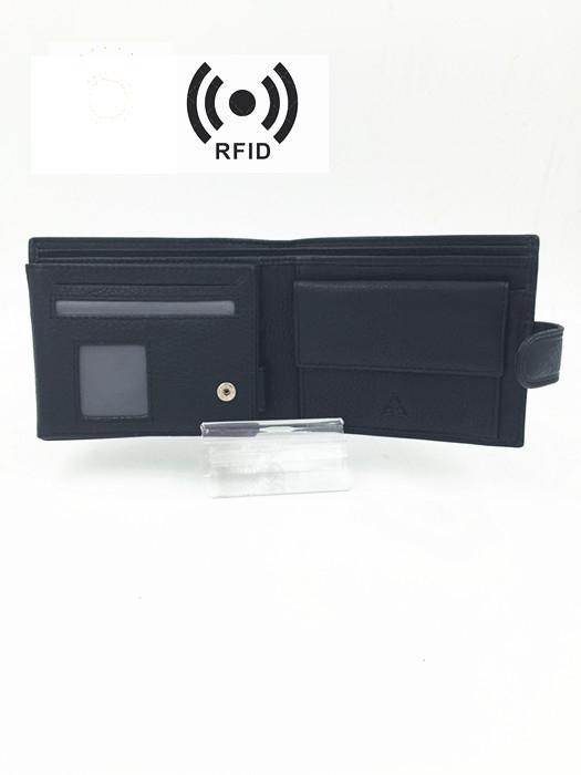 portefeuille en cuir - porte-feuille 1348 RFID