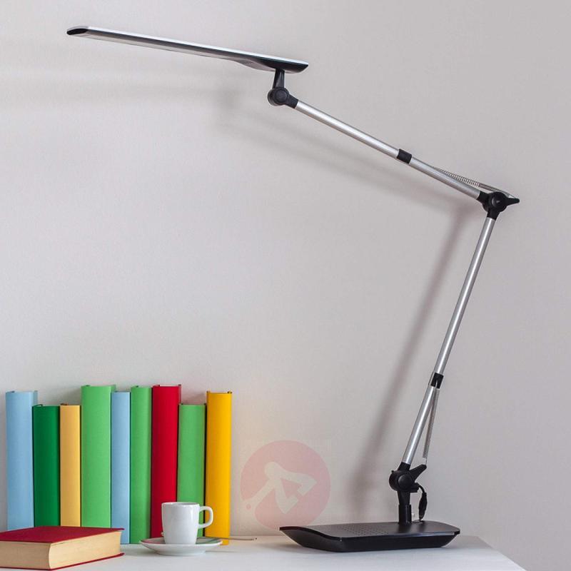 Felipe LED Desk Lamp with Clip-on Base - indoor-lighting