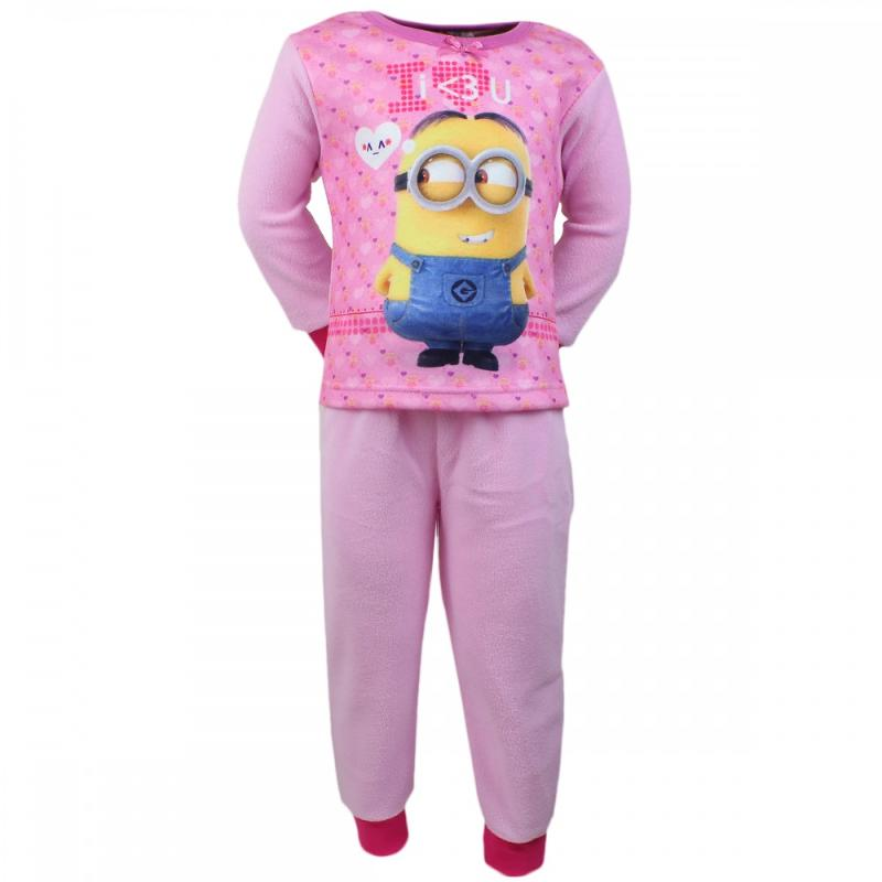 12x Pyjamas polaire Minions du 3 au 8 ans - Pyjama