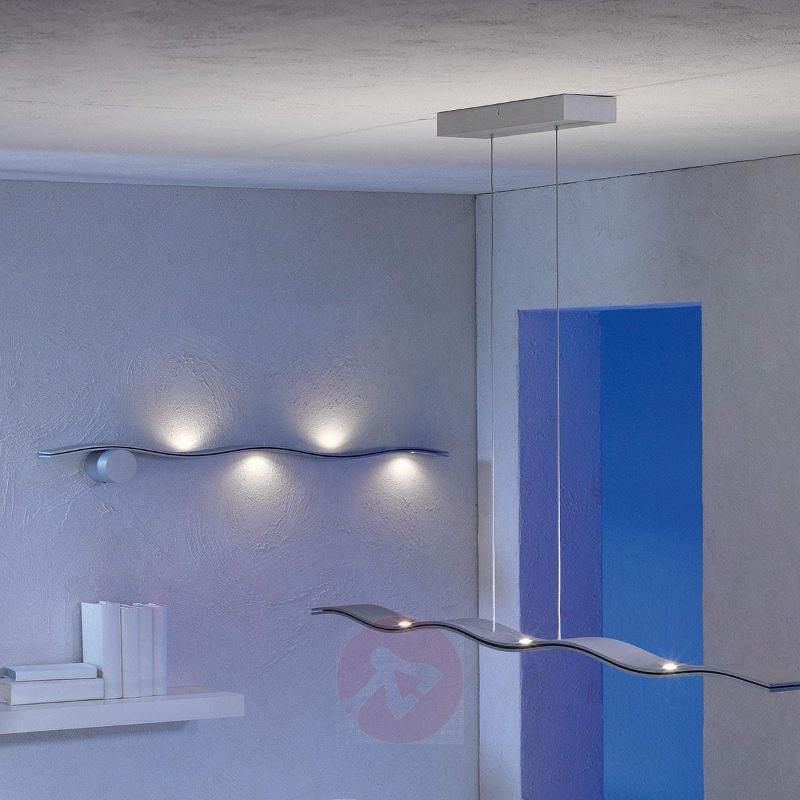 Exclusive LED wall light Fluid, aluminium - Wall Lights