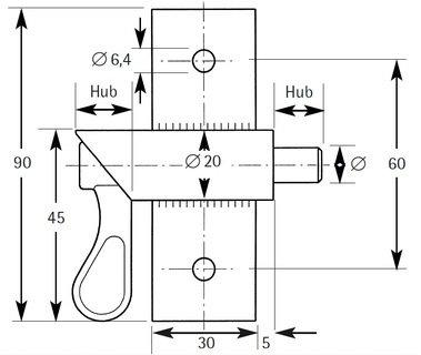 Typ SB-R/L - SB 0814 R/L