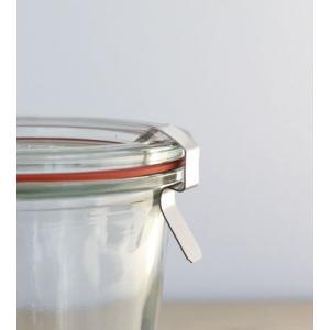Clips crochets inox pour fermeture des bocaux Weck -