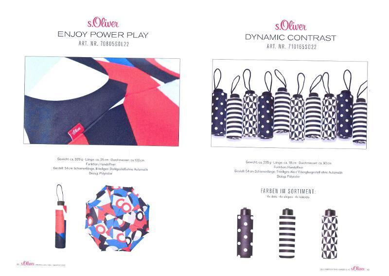 parapluies de marques - S. Oliver