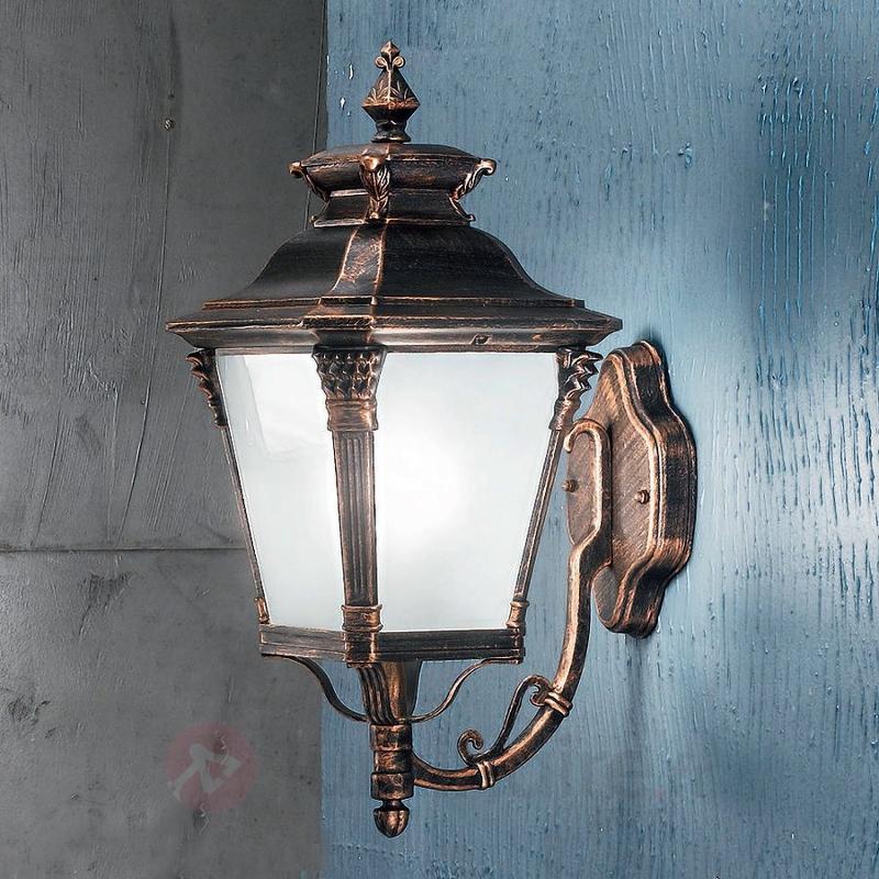 Applique d'extérieur nostalgique VIVIANA - Appliques d'extérieur cuivre/laiton
