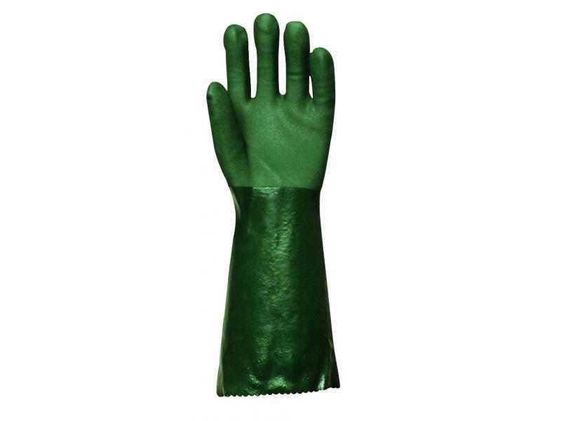 Gants polymère vert Réf. : PG3740 - Protection individuelle EPI